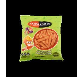 Frites ondulées