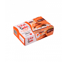 Filets de poulet pané surgelés