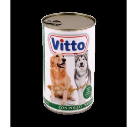 Aliment pour chien bouchées sauce