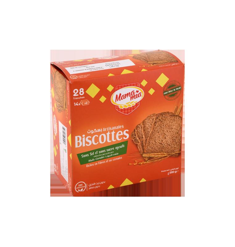 Biscotte multi-céréales