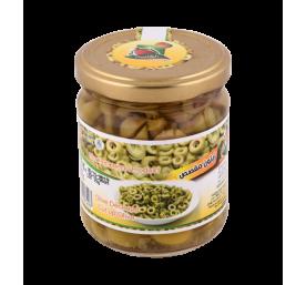 Olive découpée