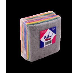 Tampons en fibre abrasifs