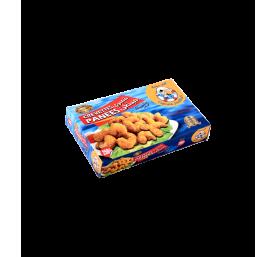 Crevettes panées surgelées