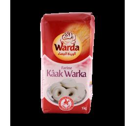Farine préparation kaak warka