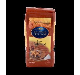 Farine préparation baklawa